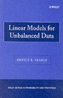 Linear Models for Unbalanced Data (inbunden)