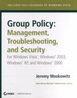 Group Policy - Management, Troubleshooting, and Security (h�ftad)