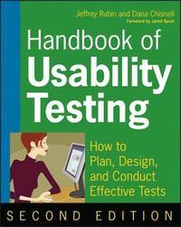 Handbook of Usability Testing 2nd Edition (h�ftad)