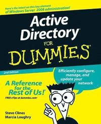 Active Directory For Dummies 2nd Edition (h�ftad)