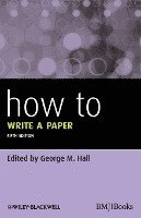 How to Write a Paper (h�ftad)