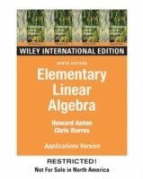 Elementary Linear Algebra: WITH Applications (h�ftad)