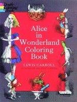Alice in Wonderland Coloring Book (h�ftad)