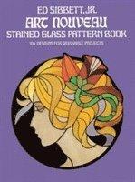 Art Nouveau Stained Glass Pattern Book (häftad)