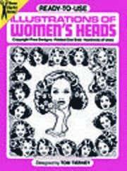 Ready-to-Use Illustrations of Women's Heads (h�ftad)