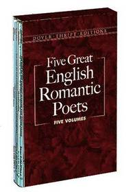 Five Great English Romantic Poets: Boxed Set: Lyric Poems / Selected Poems / Favorite Poems / The Rime of the Ancient Mariner and Other Poems / Selected Poems (h�ftad)