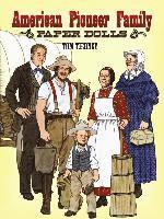 American Pioneer Family Paper Dolls (h�ftad)