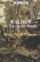 Walden: Or Life in the Woods (pocket)