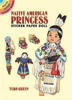 Native American Princess Sticker Paper Doll (h�ftad)