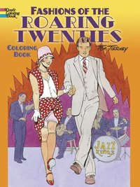 Fashions of the Roaring Twenties Coloring Book (h�ftad)