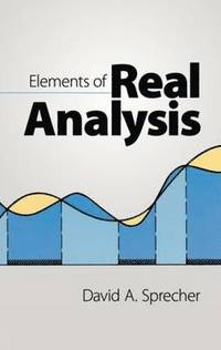 Elements of Real Analysis (h�ftad)