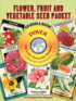 Flower, Fruit and Vegetable Seed Packet