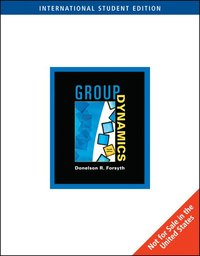 Group Dynamics International Edition Donelson Forsyth Books