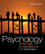Psychology: Themes and Variations [With Study Guide]