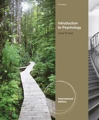 Introduction to Psychology, International Edition (h�ftad)