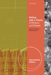 writing with a thesis skwire Sarah skwire is a senior fellow at liberty fund, inc she is a poet and author of the writing textbook writing with a thesis she is a member of the fee faculty network.
