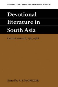 Devotional Literature in South Asia (h�ftad)