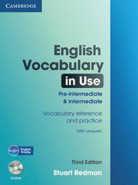 English Vocabulary in Use: Pre-intermediate and Intermediate with Answers and CD-ROM ()