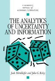 The Analytics of Uncertainty and Information (h�ftad)