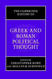 The Cambridge History of Greek and Roman Political Thought (h�ftad)