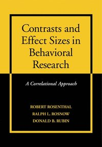 Contrasts and Effect Sizes in Behavioral Research (h�ftad)