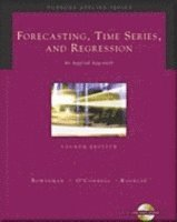 Forecasting, Time Series, and Regression (with CD-ROM) ()