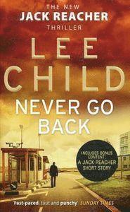Never Go Back (inbunden)