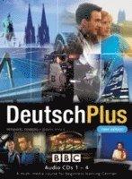 DEUTSCH PLUS 1 (NEW EDITION) CD's 1-4 (ljudbok)