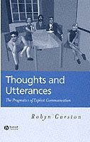 Thoughts and Utterances (inbunden)