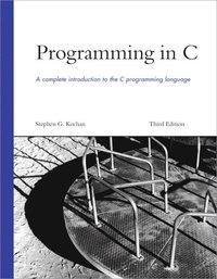 Programming in C (h�ftad)