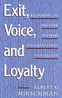 Exit, Voice and Loyalty (h�ftad)