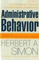 Administrative Behavior (h�ftad)