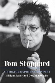 Tom Stoppard - William Baker, Gerald N Wachs - Bok (9780712349666) | Bokus bokhandel - 9780712349666_large