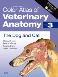 Color Atlas of Veterinary Anatomy, Volume 3, The Dog and Cat