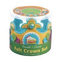 Happy Birthday! Felt Crown Set (h�ftad)