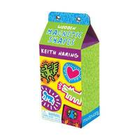 Keith Haring Wooden Magnetic Shapes (h�ftad)