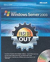Windows Server 2003 Inside Out Book/CD Package