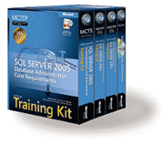 MCITP Self Paced Training Kit: Database Administrator Core Requirements Book/DVD Package
