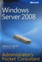 Windows Server 2008 Administrator's Pocket Consultant (h�ftad)