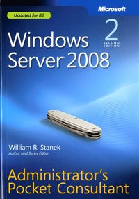 Windows Server 2008 Administrator's Pocket Consultant 2nd Edition (h�ftad)