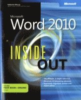 Microsoft Word 2010 Inside Out (h�ftad)