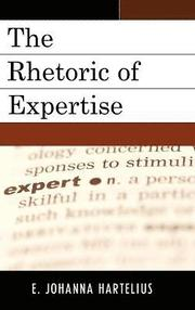 The Rhetoric of Expertise (inbunden)