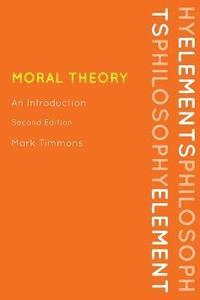 Moral Theory (h�ftad)