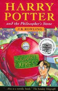 Harry Potter and the Philosopher's Stone (inbunden)