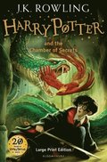 Harry Potter and the Chamber of Secrets (LARGE PRINT)