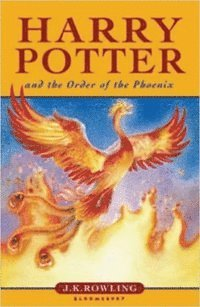 Harry Potter And The Order Of The Phoenix (kartonnage)