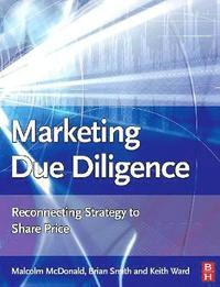 Marketing Due Diligence (h�ftad)