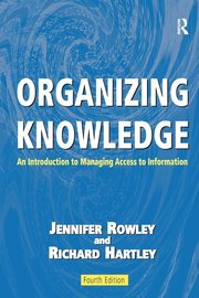 Organizing Knowledge (h�ftad)