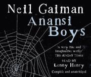 Anansi Boys (ljudbok)