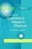 Introduction to Quantitative Research Methods (h�ftad)